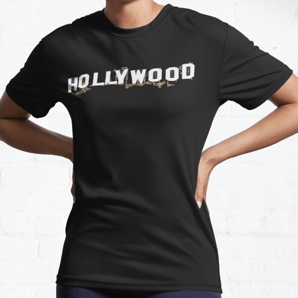 HOLLYWOOD SIGN LETTERING. Active T-Shirt