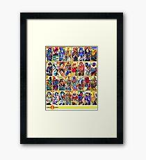 G.I. Joe in the 80s!  Cobra Edition! Framed Print