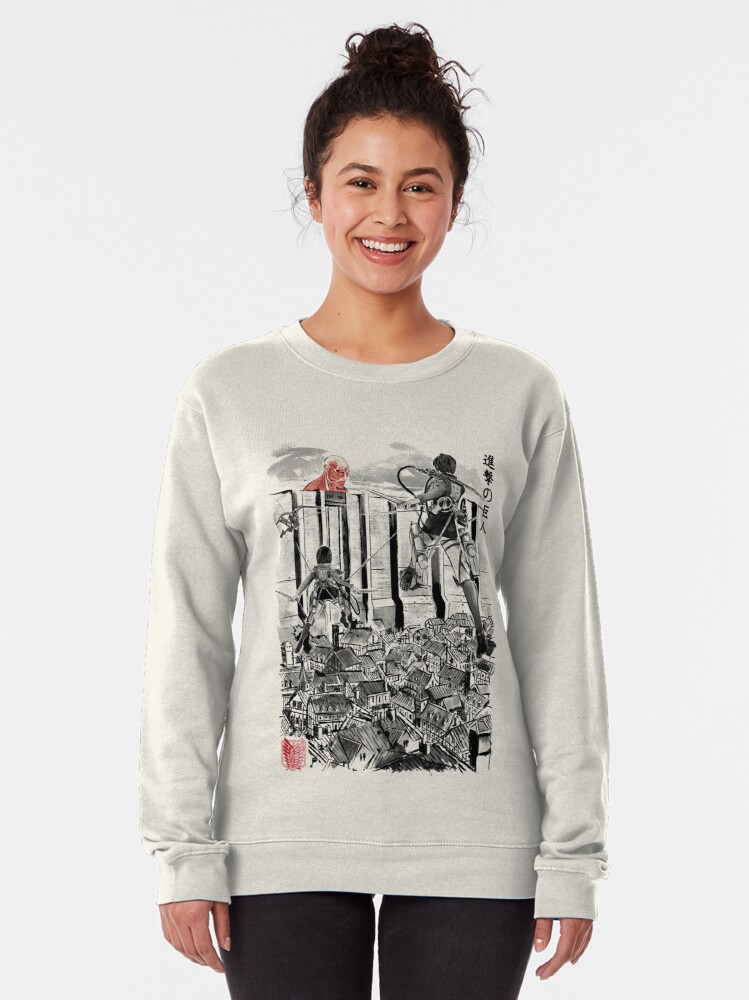 Alternate view of Flying For Humanity Pullover Sweatshirt
