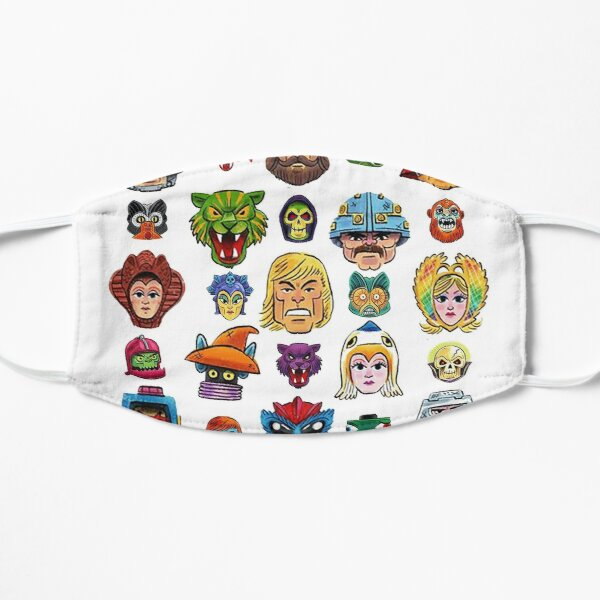 Faces of He-Man and the Masters of the Universe Mask