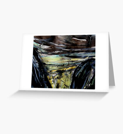 storm approaching.... Greeting Card