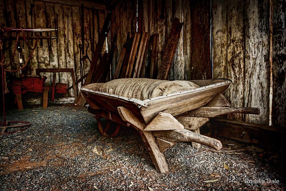 The Feed Barrow ~ Pioneer Village Wilberforce (NSW) by Rosalie Dale