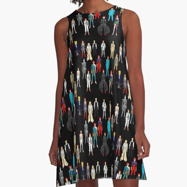 Retro Vintage Fashion 19 A-Line Dress