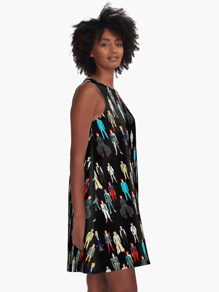 Alternate view of Retro Vintage Fashion 19 A-Line Dress
