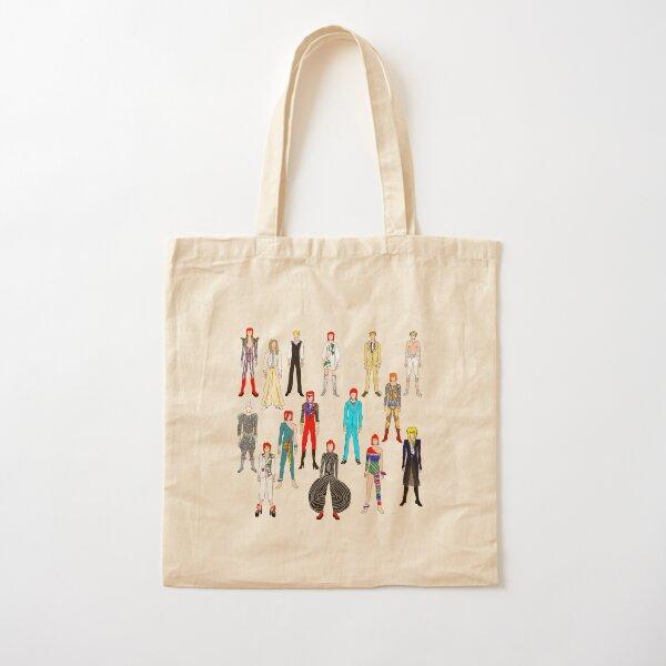 Retro Vintage Fashion 19 Cotton Tote Bag
