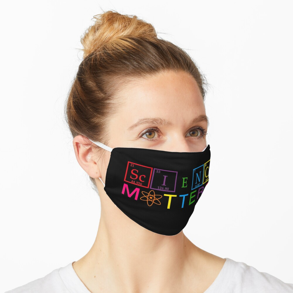 Rainbow Science Matters - March for Science April 22, 2017 Mask