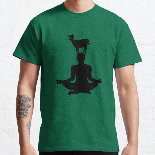Cute Goat Doing Yoga Classic T-Shirt