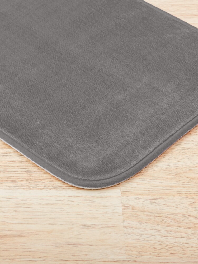 Alternate view of Grey Dovecote Solid Summer Party Color Bath Mat