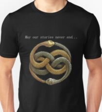 Never Ending Story - May our stories never end... Unisex T-Shirt