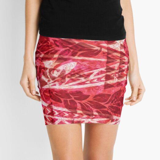 Hawaiian TAPA Dress Print  Mini Skirt