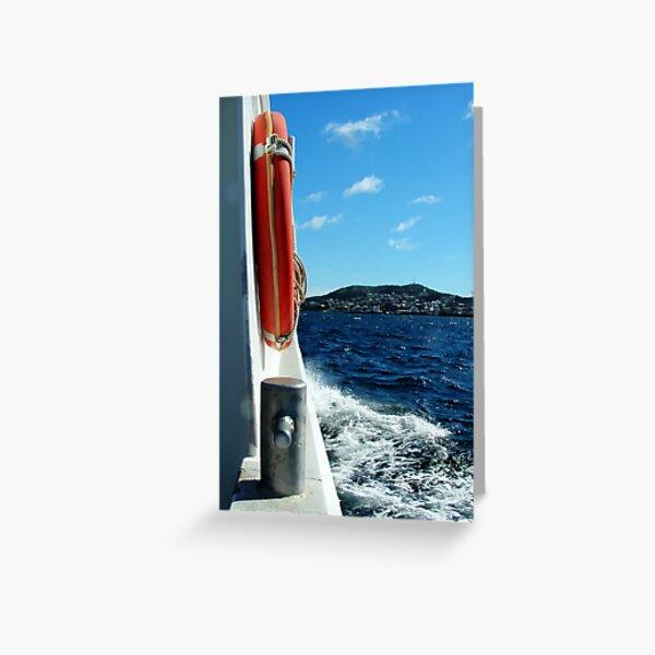 Lifebuoy & Bolard Greeting Card
