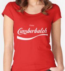Enjoy Cumberbatch Women's Fitted Scoop T-Shirt