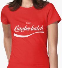 Enjoy Cumberbatch Womens Fitted T-Shirt