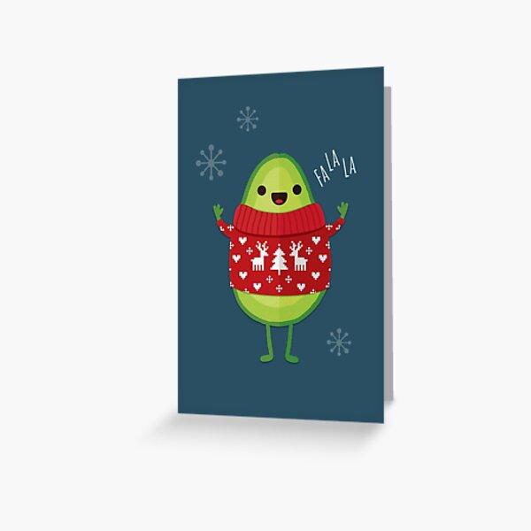Avo Merry Christmas! Greeting Card