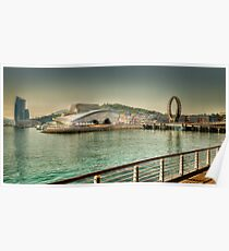 The EXPO 2012 area, Yeosu, South Korea Poster
