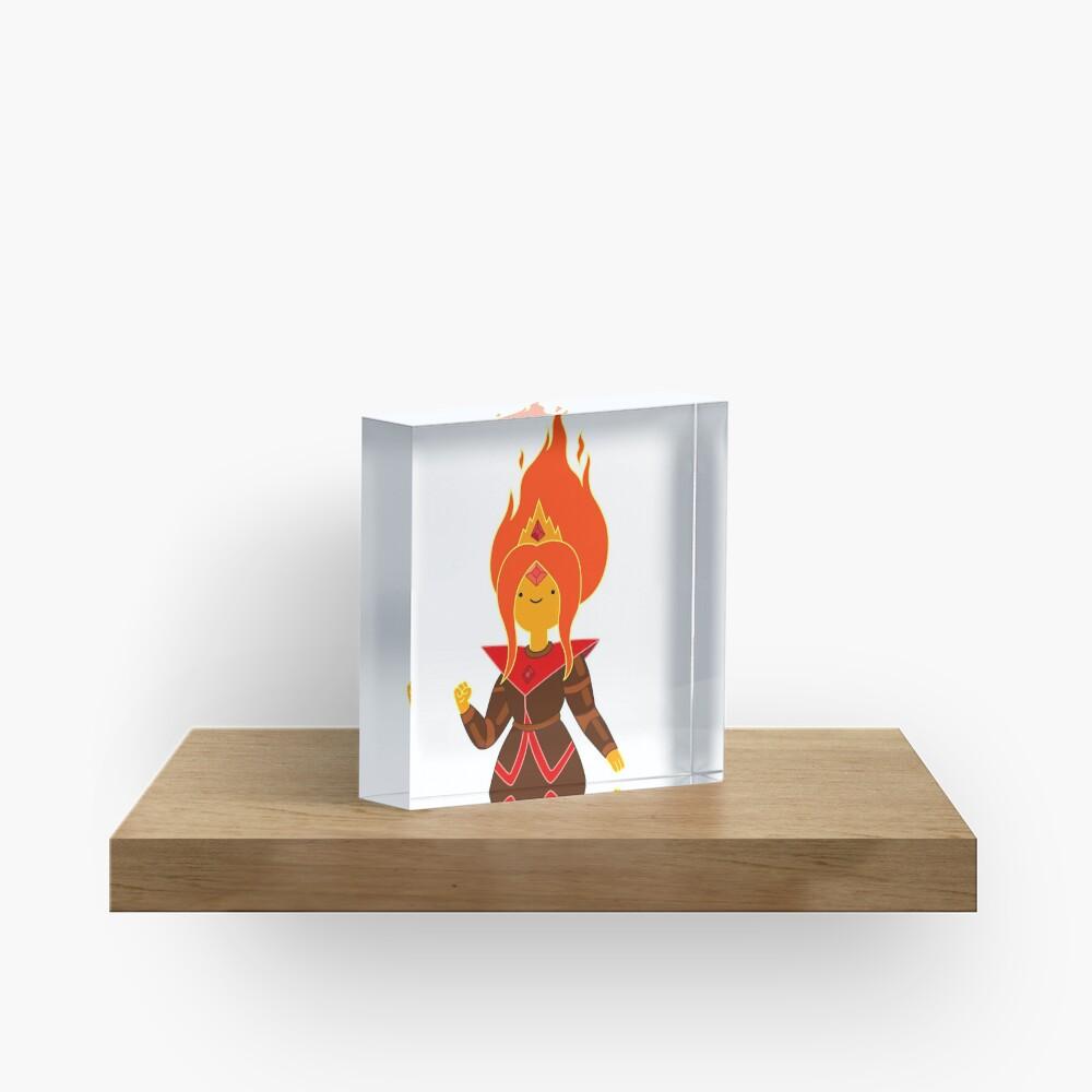 Flame Princess Acrylic Block