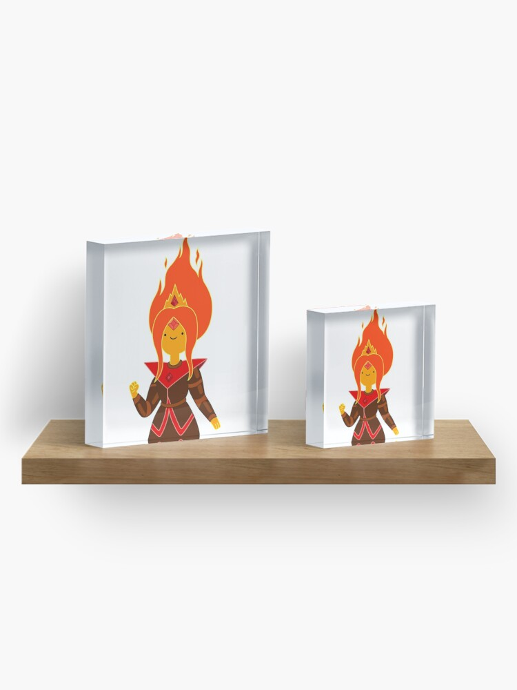 Alternate view of Flame Princess Acrylic Block