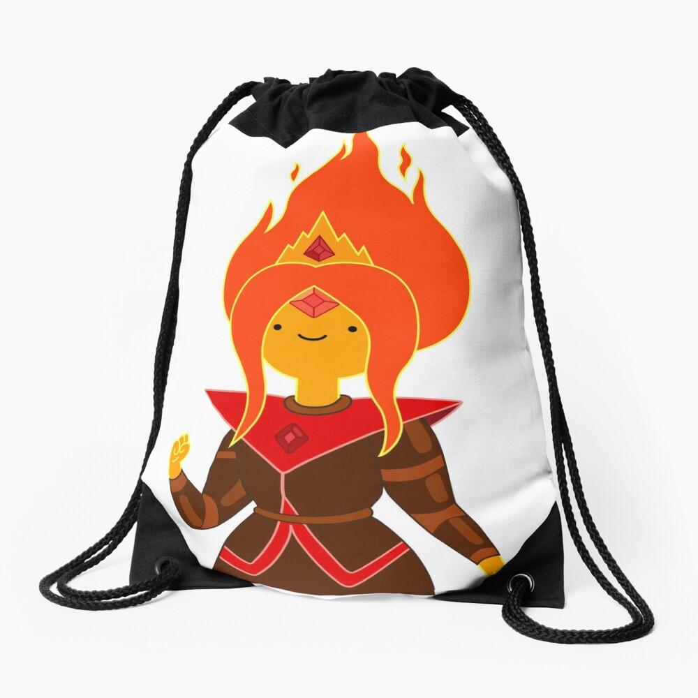 Flame Princess Drawstring Bag