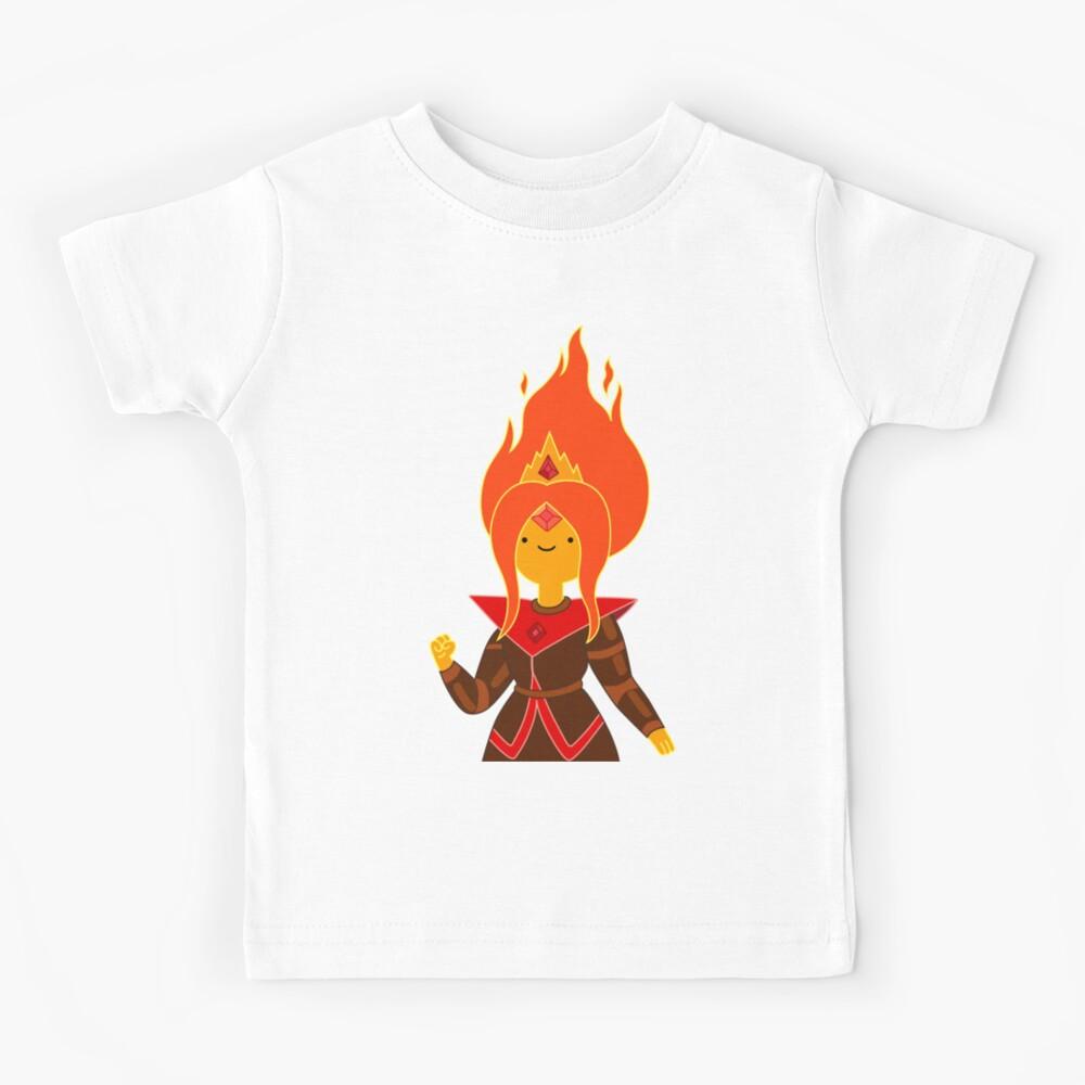 Flame Princess Kids T-Shirt