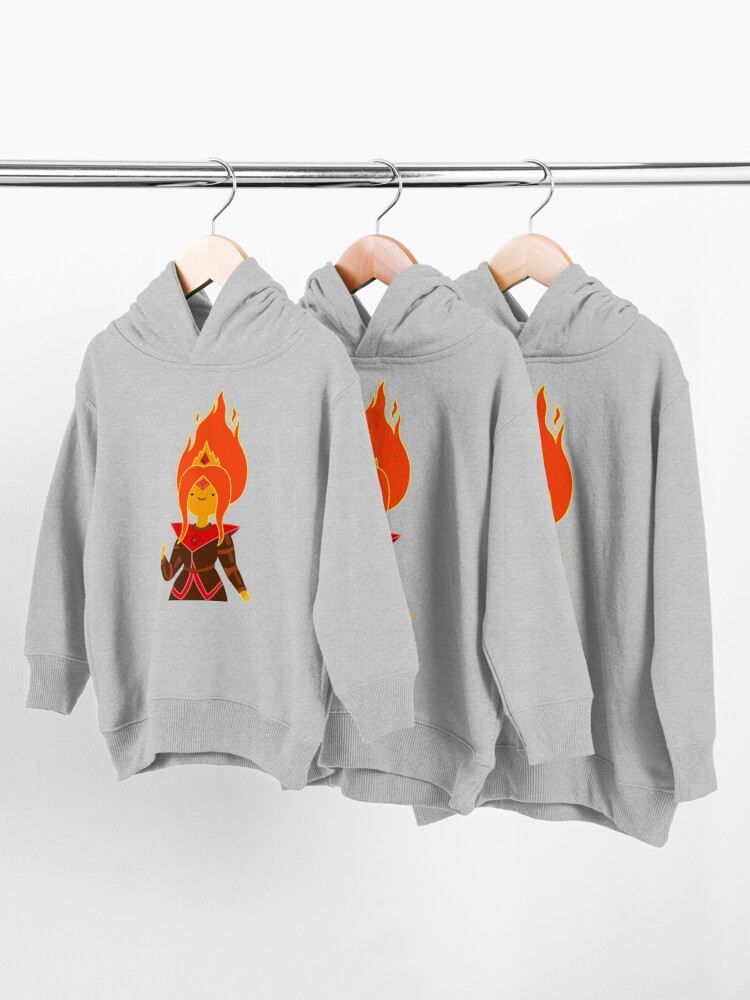 Alternate view of Flame Princess Toddler Pullover Hoodie