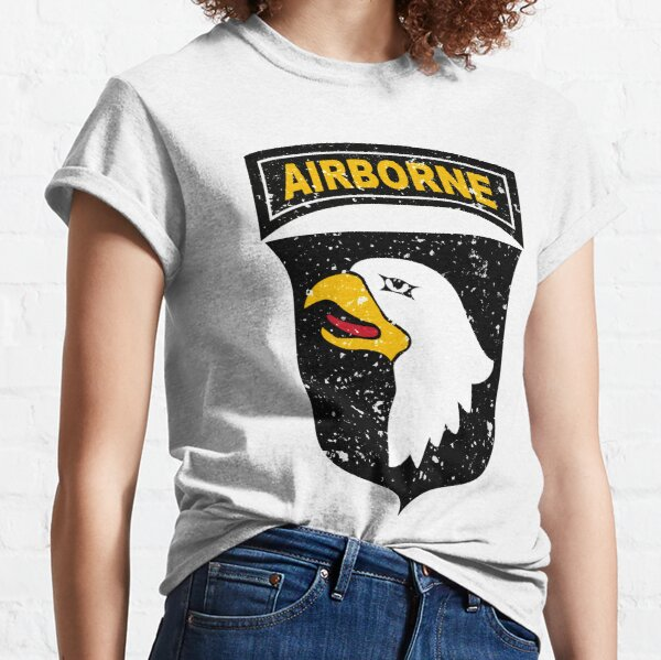 """101st Airborne Division """"Screaming Eagles"""" Insignia Classic T-Shirt"""