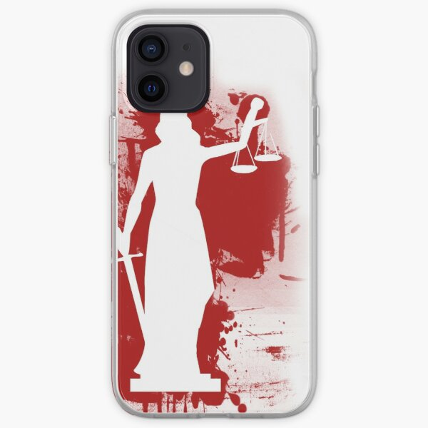 Bloody Statue iPhone Soft Case