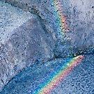 Rainbow rock by Antoine de Paauw