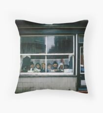 Second Hand Shop, Engand, UK, 1982. Throw Pillow
