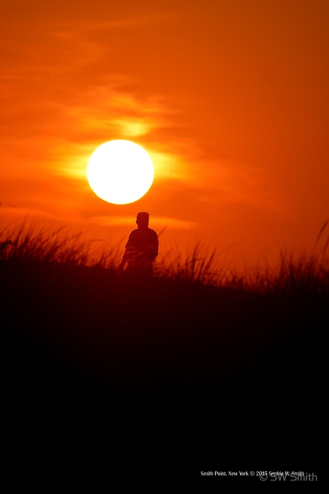 Man Under The Sun | Smith Point, New York by © Sophie W. Smith