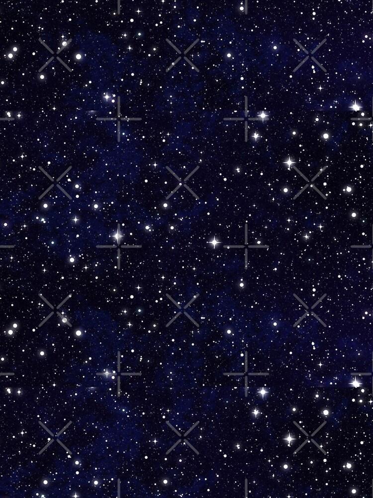 Blue Galaxy Stars by joom8
