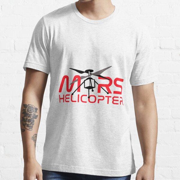"JPL's Mars Helicopter ""Ingenuity"" Logo Essential T-Shirt"