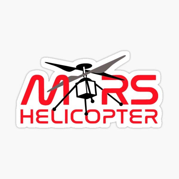 """JPL's Mars Helicopter """"Ingenuity"""" Logo Sticker"""