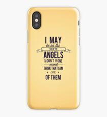 The Side of the Angels iPhone Case/Skin