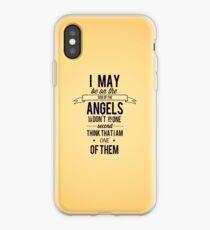 The Side of the Angels iPhone Case