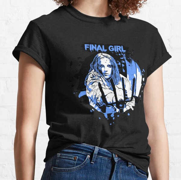 Horror Final Girls - Ginny - Friday the 13th Part 2 Classic T-Shirt