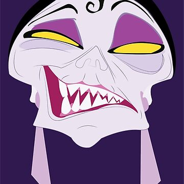 the darker side of Yzma by Octopusiscool