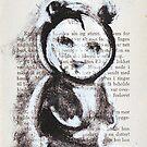 Panda girl 2 by Tatjana Larina