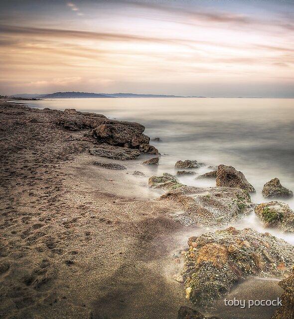 Sunset at Mojacar Beach Club by Toby Pocock