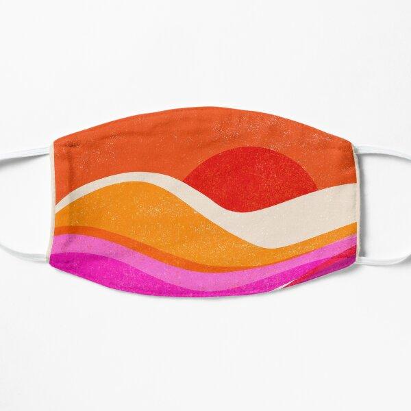 Mountain Sunset Flat Mask