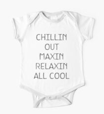 Chillin Out One Piece - Short Sleeve
