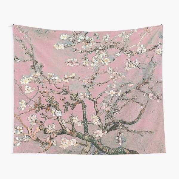 Flor de almendro - Vincent van Gogh (pastel rosa) Tela decorativa