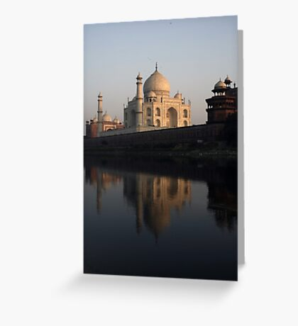 Taj Mahal Greeting Card