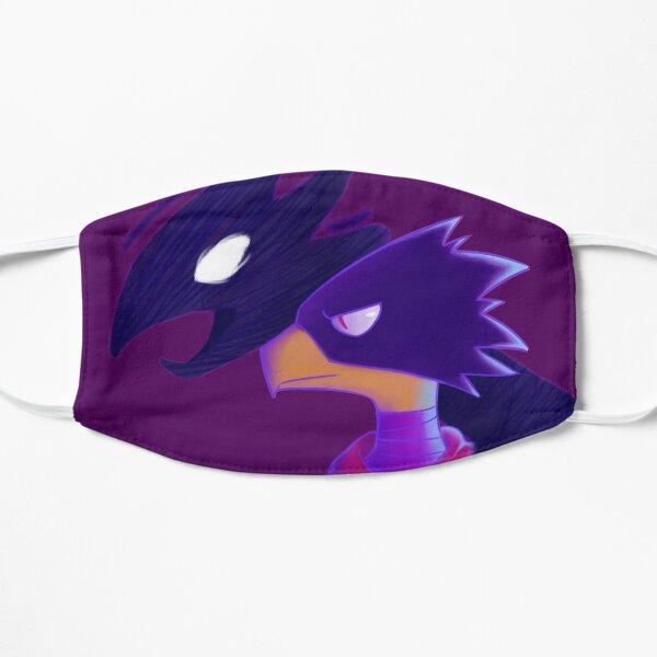 tokoyami and dark shadow Flat Mask