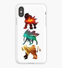 the legendary trio (beasts) iPhone Case/Skin