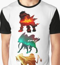 the legendary trio (beasts) Graphic T-Shirt