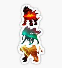 the legendary trio (beasts) Sticker