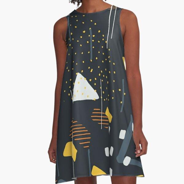 Delicious Patterns A-Line Dress