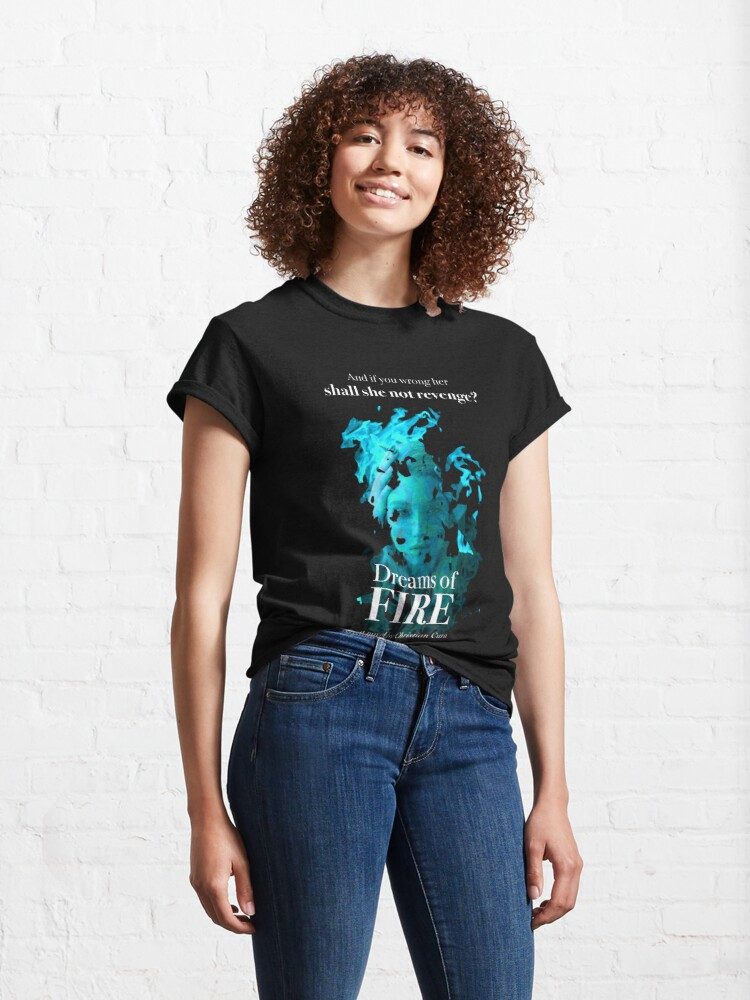 Alternate view of Surreal Dreams of Fire Promotional Graphic Classic T-Shirt