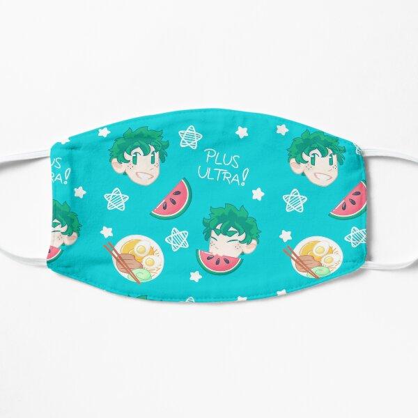 deku summer pattern Flat Mask