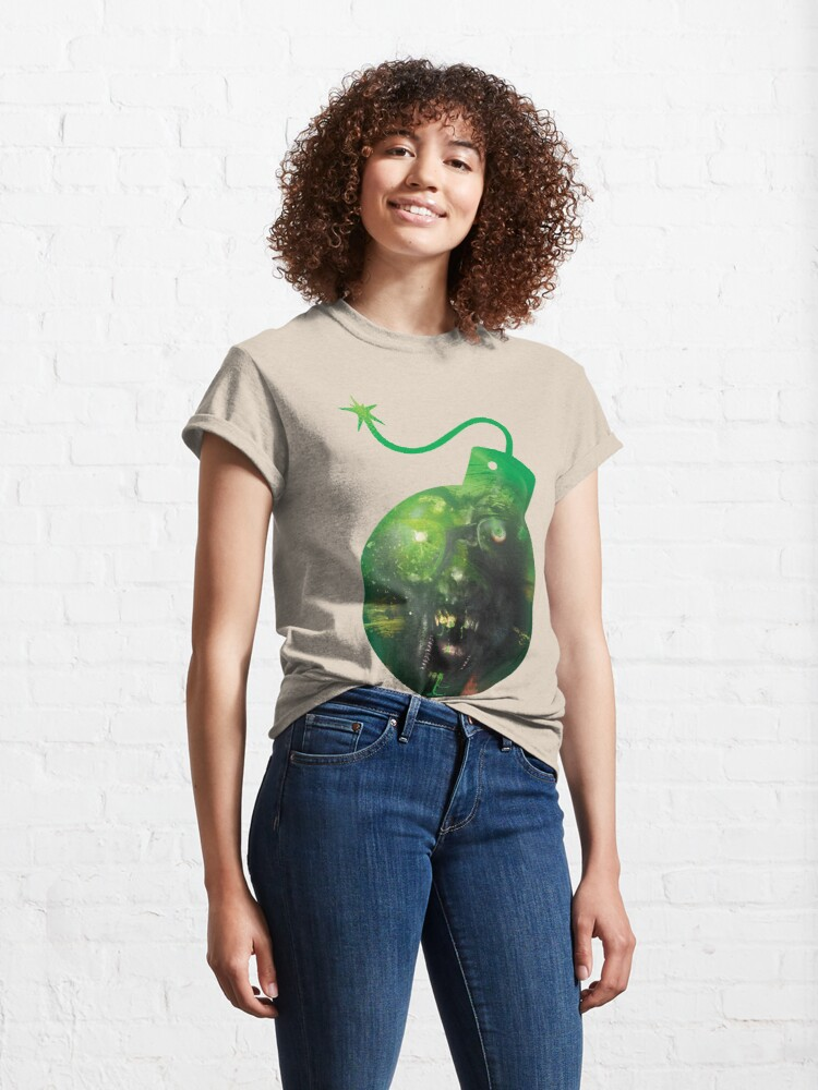 Alternate view of Monster bomb, surreal design Classic T-Shirt